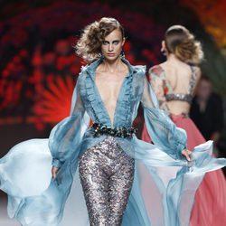 Pantalón con lentejuelas de la colección primavera/verano 2014 de Francis Montesinos en Madrid Fahion Week