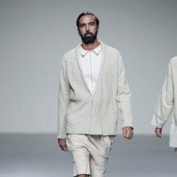 Chaqueta acolchada de la colección primavera/verano 2014 de Etxeberría en Madrid Fashion Week