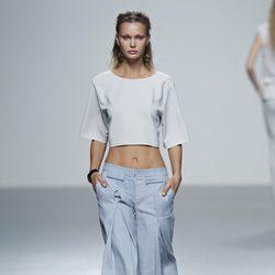 Look informal de la colección primavera/verano 2014 de Rabaneda en Madrid Fashion Week