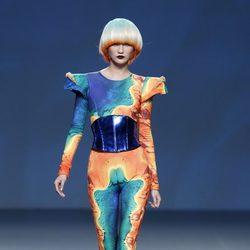 Jumspuit de la colección primavera/verano 2014 de Maya Hansen en Madrid Fashion Week
