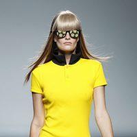 Vestido tipo camiseta de la colección primavera/verano 2014 de Carlos Díez en Madrid Fashion Week
