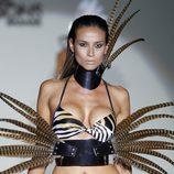 Biquini print de la colección primavera/verano 2014 de Montse Bassons en Madrid Fashion Week