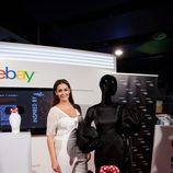 Vicky Martín Berrocal presenta el vestido de gitana de la colección 'Inspired by Minnie' en Madrid Fashion Week