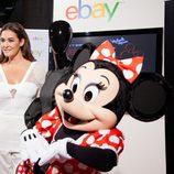 Vicky Martin Berrocal y Minnie Mouse presentan la colección 'Inspired by Minnie' en la Madrid Fashion Week