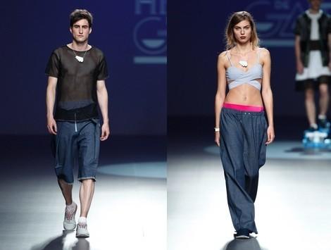 Pantalón sport de la colección primavera/verano 2014 de Heridadegato en el EGO Madrid Fashion Week