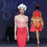 Falda de tubo de la colección primavera/verano 2014 de Lady Cacahuete en el EGO Madrid Fashion Week