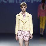 Short de lunares de la colección primavera/verano 2014 de Victor Von Schawarz en el EGO Madrid Fashion Week