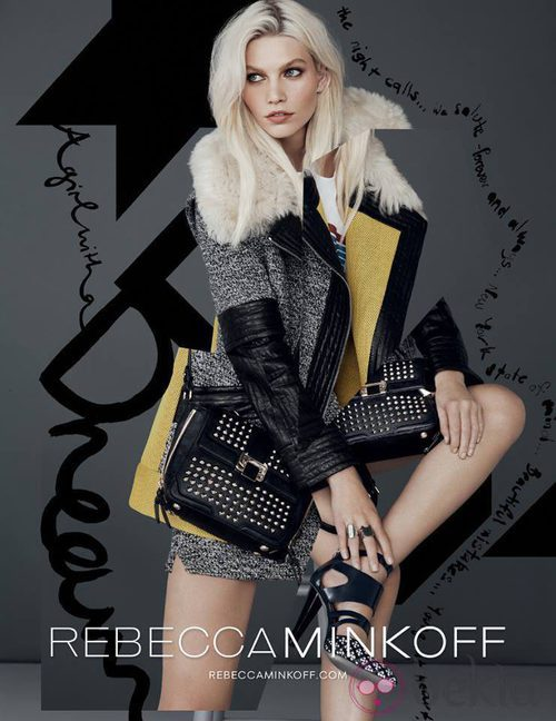 Bolsos y chaqueta de la colección otoño/invierno 2013/2014 de Rebecca Minkoff
