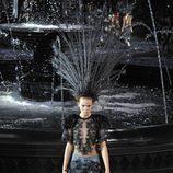 Top y pantalón de la colección primavera/verano 2014 de Louis Vuitton en Paris
