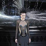 Vestido de la colección primavera/verano 2014 de Louis Vuitton en Paris