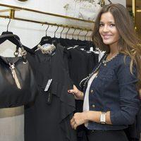 Malena Costa con las prendas de la colección otoño/invierno 2013/2014 de Liu Jo