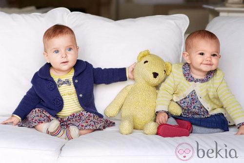 Ropa de bebés de la colección otoño/invierno 2013 de Benetton Kids
