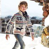 Jersey de renos de la colección otoño/invierno 2013 de Benetton Kids