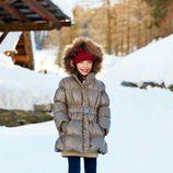 Abrigo de plumas de la colección otoño/invierno 2013 de Benetton Kids