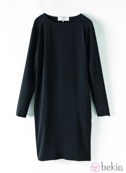Vestido negro de la colección de Juanjo Oliva para Elogy otoño/invierno 2013/2014