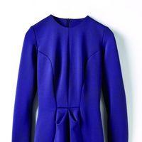 Vestido morado de la colección de Juanjo Oliva para Elogy otoño/invierno 2013/2014