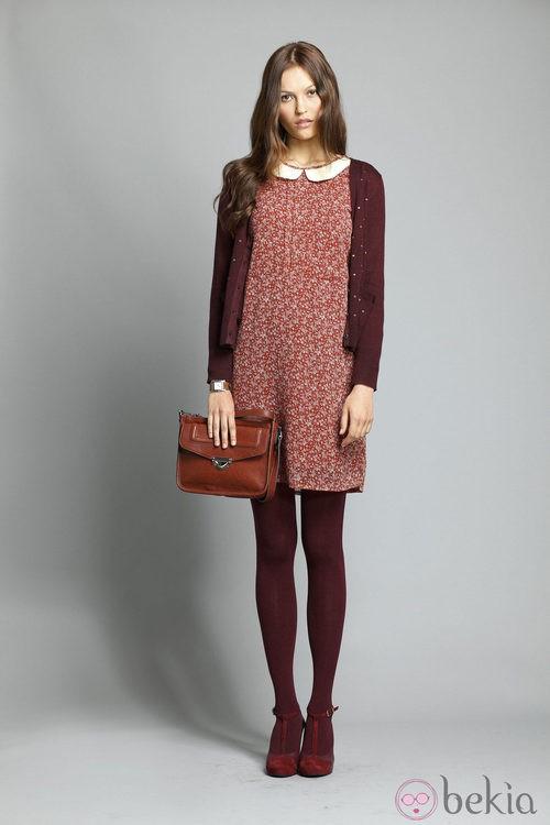 Vestido de lunares de la colección otoño/invierno 2013/2014 de Indi&Cold