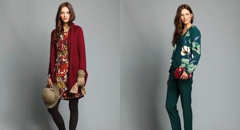 Vestido estampado de la colección otoño/invierno 2013/2014 de Indi&Cold