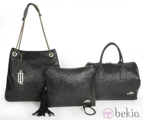 Bolsos negros modelo 'Adriana' de la colección otoño/invierno 2013/2014 de Loeds