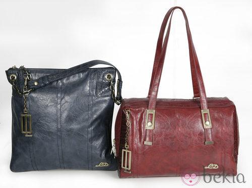 Bolsos rojo y azul modelo 'Colana' de la colección otoño/invierno 2013/2014 de Loeds