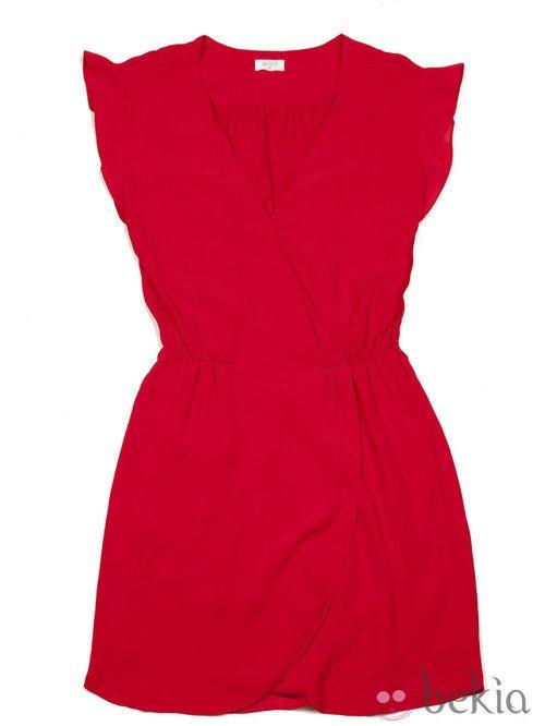 Vestido rojo de la colección otoño/invierno 2013/2014 de Amichi