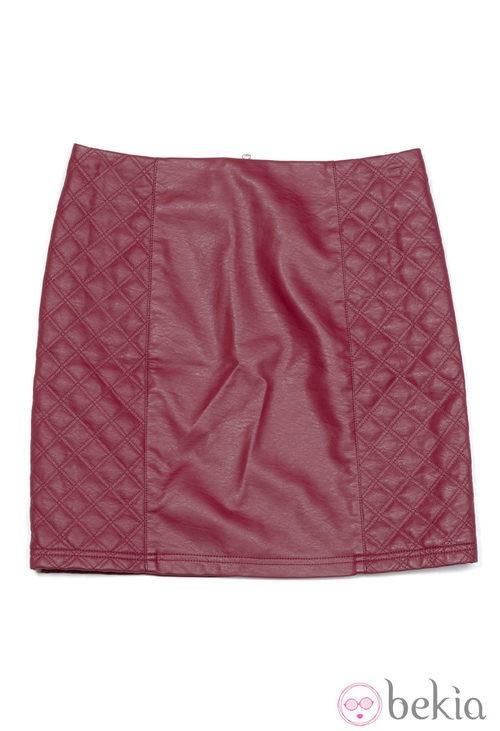 Minifalda de cuero de la colección otoño/invierno 2013/2014 de Amichi