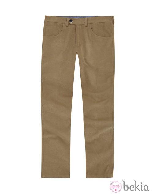 Pantalón beige de la colección otoño/invierno 2013/2014 de Emidio Tucci