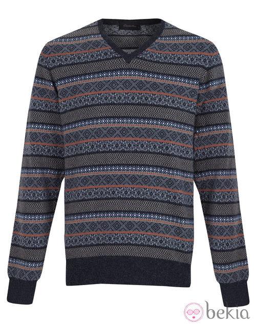 Jersey de rayas de la colección otoño/invierno 2013/2014 de Emidio Tucci