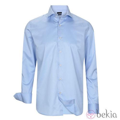 Camisa azul claro de la colección otoño/invierno 2013/2014 de Emidio Tucci