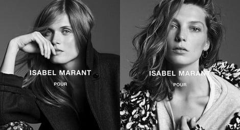 Daria Werbowy presenta la colección de Isabel Marant para H&M
