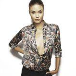 Blusa estampada de la colección Fall 2013 de Suiteblanco