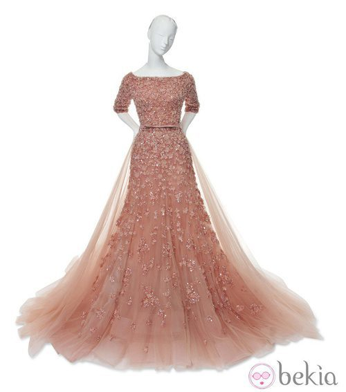 Vestido inspirado en Aurora de La Bella Durmiente de Elie Saab