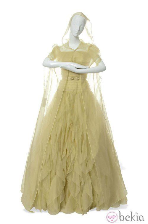 Vestido inspirado en Bella de La Bella y la Bestia de Valentino