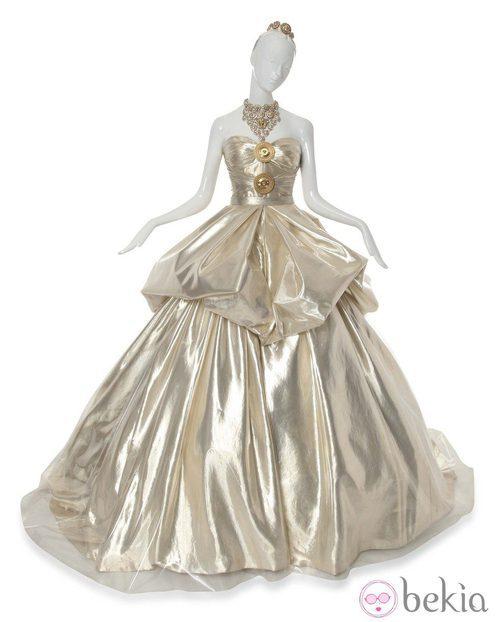Vestido inspirado en La Cenicienta de Versace