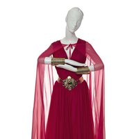 Vestido inspirado en Jasmin de Aladdin de Escada