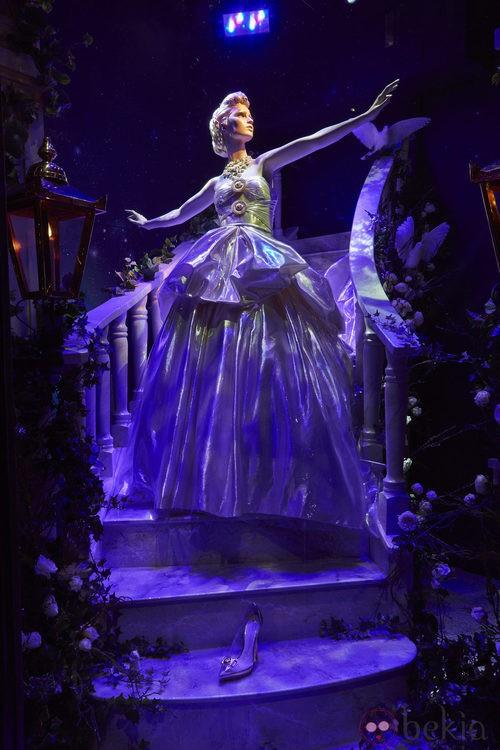 Vestido inspirado en La Cenicienta de Versace en Harrods