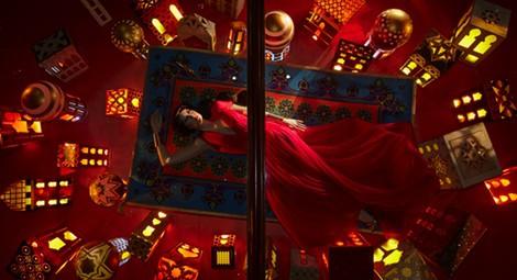 Vestido inspirado en Jazmin de Escada en Harrods