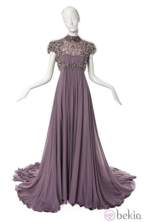 Vestido inspirado en Rapunzel de la película Enredados de Jenny Packham