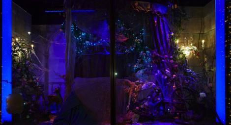Vestido inspirado en Aurora de La Bella Durmiente de Elie Saab en Harrods