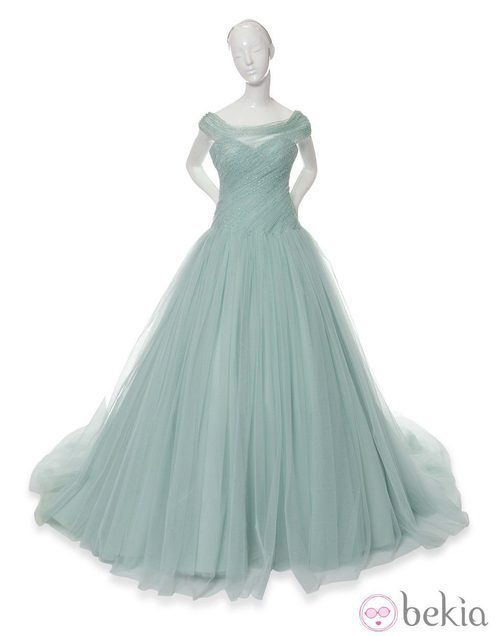 Vestido inspirado en Tiana de Tiana y el sapo de Ralph & Russo