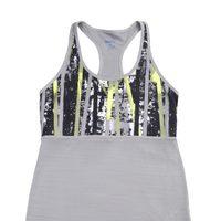 Camiseta gris de la colección Reebok Aerobics