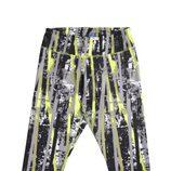 Pantalón Hopkick Capri color amarillo de la colección Reebok Aerobics