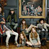 Imagen de la campaña otoño/invierno 2013 de Sisley Young