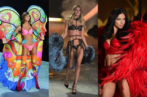 Karlie Kloss durante el Victoria's Secret Fashion Show 2013
