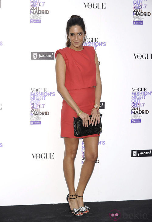 Gala González de Giambattista Valli en la Vogue Fashion's Night Out 2011
