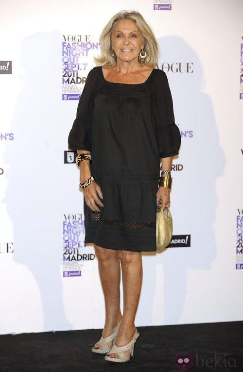 Beatriz de Orleans en la Vogue Fashion's Night Out 2011