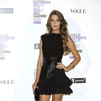 Clara Alonso de Azzedine Alaïa en la Vogue Fashion's Night Out 2011