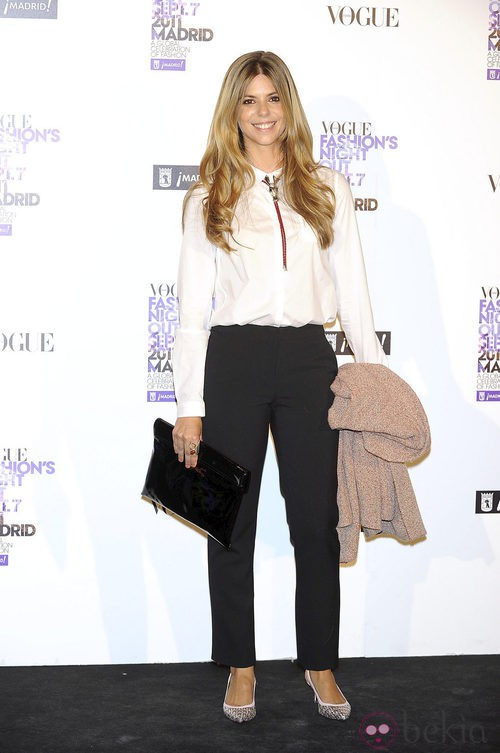 Manuela Velasco de Bimba y Lola en la Vogue Fashion's Night Out 2011