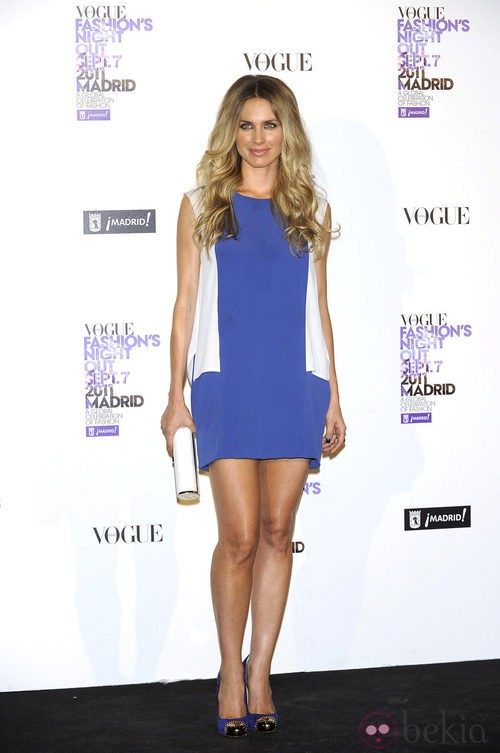Vanessa Romero de Stella McCartney en la Vogue Fashion's Night Out