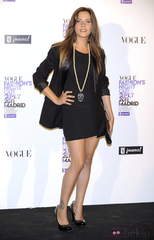 María León en la Vogue Fashion's Night Out 2011
